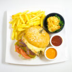 203_Cheese Chicken Burger