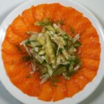 Salmon fennel salad