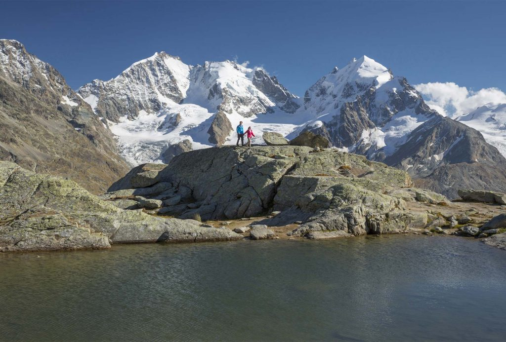 Klettersteig La Resgia : Wandern & bergsteigen laudinella st. moritz
